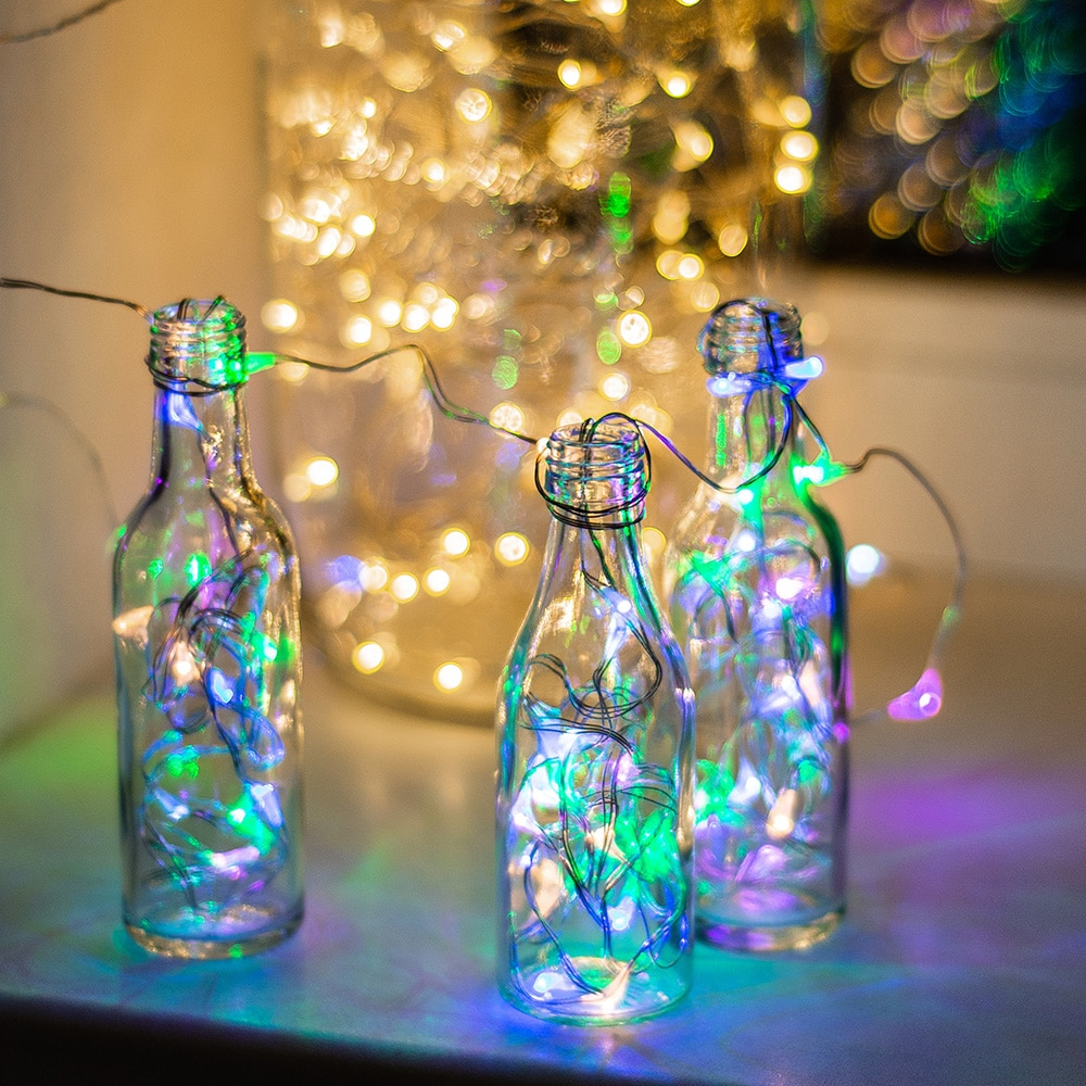 Lights in bottles