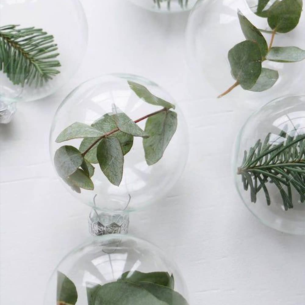Clear Modern Scandinavian baubles