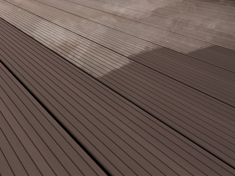 composite deck maintained with Compo-Clean