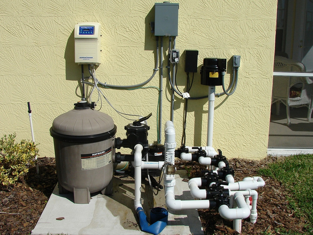 swimming pool pump system