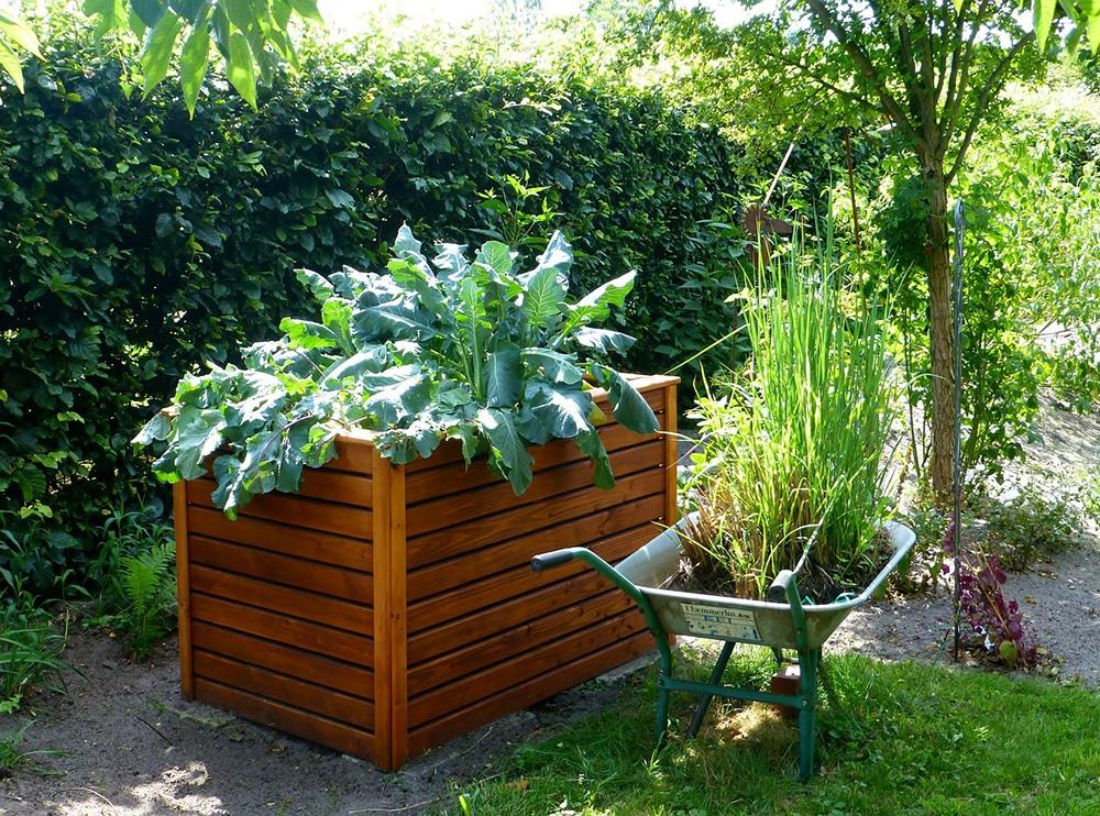 free standing garden bed