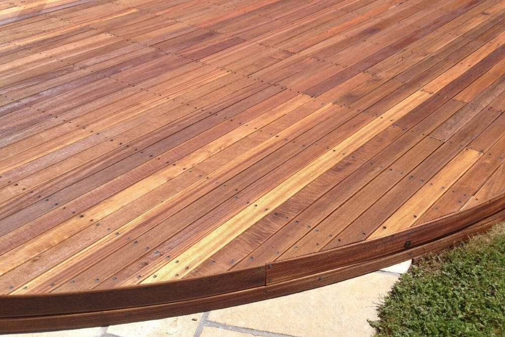 grooved deck