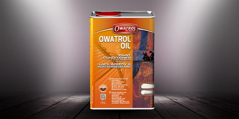 Owatrol Oil packaging