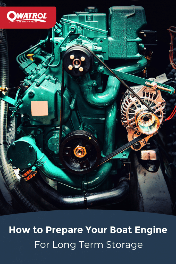 How to prepare your boat engine for long term storage - Pinterest